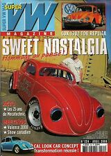 SUPER VW MAGAZINE N°224 SWEET NOSTALGIA/COX 1302 TDE REPLICA AVRIL 2008