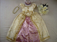 Disney Princess Rapunzel Wedding costume girl dress up XS 4 Deluxe