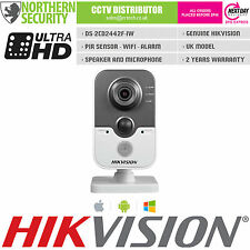 HIKVISION 2.8mm 4MP 1080P WDR Wireless Wifi PIR Microphone IP CCTV Cube Camera