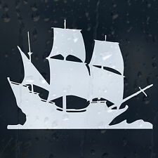 Sailing Ship Car Decal Vinyl Sticker For Window Bumper Panel