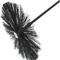 """MARY POPPINS CHIMNEY SWEEPING SWEEP 16"""" SWEEPS BRUSH INCLUDING DRAIN ROD"""