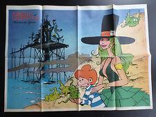 Poster Supplement Will Isabelle Du Journal Spirou N° 1971 de 1976