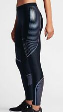 NIKE Women's Power Speed Running Tight Leggings Pants; Black; Medium; Reg $150