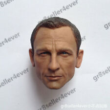 "custom 1/6 scale Head Sculpt Daniel Craig as James bond 007 For 12"" figure toy"