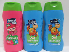 Suave Kids Conditioner AND Suave Kids 2-N-1 Shampoo+Conditioner - 12 oz (3 Pack)