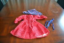American Girl Kirsten School Dress, Scarf & Hair Ribbons-Division Pattern by PC