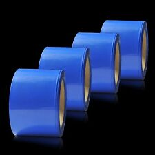 83mm Blue PVC Heat Shrink Tube Tubing Wrap RC LiPO NiMH NiCd Battery Pack