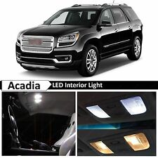 14x Premium White Interior LED Lights Package Kit 2008-2015 GMC Acadia + TOOL