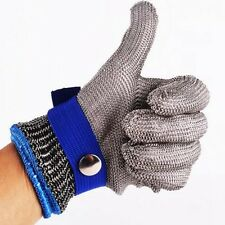 6 Sizes Safety Cut Proof Stab Resistant Stainless Steel Metal Mesh Butcher Glove