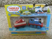 Thomas the Train Wooden Railway NEW to Rescue coal soot 'dirty' Day of Diesels