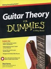 Guitar Theory For Dummies: Book + Online Video & Audio Instruction, Serna, Desi,
