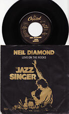 "NEIL DIAMOND - LOVE ON THE ROCKS Very rare 1980 german 7"" P/S Single Release!"