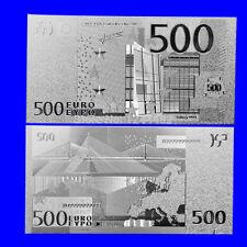 BANCONOTA 500 EUROS REPLICA SILVER