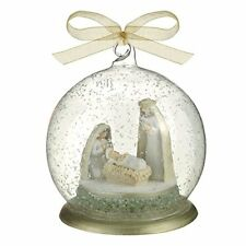 Grasslands Road Nativity Ball Ornament Mary Joseph and Baby Jesus