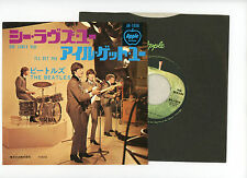 """THE BEATLES 7"""" PS Japan SHE LOVES YOU a0085"""