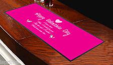 Runner rosa da tavolo San Valentino My Wish Came True, da bar, idea regalo