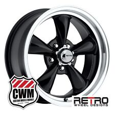 "17x7"" Ford Falcon Wheels Set Black Falcon Rims for Ford Falcon 64-70"
