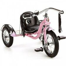 Kids Pink Tricycle Child Trike Bike Big Three Wheel Training Bicycle Scooter Toy