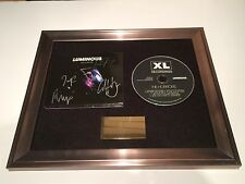 PERSONALLY SIGNED/AUTOGRAPHED THE HORRORS - LUMINOUS FRAMED CD PRESENTATION.