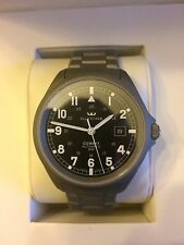 NEW Glycine Combat 7, ETA 2824-2, 42mm, Sandblasted, Sapphire, 3898.19AT4.SB.MB
