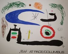 Joan MIRO Affiche Quadri et lithographie Art Abstrait Abstraction Paris Barcelon