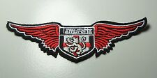 Embroidered Patch Iron Sew SCOOTER LAMBRETTA ENGLAND LION ST GEORGE'S WINGS  #T1