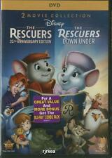The Rescuers 35th Anniversary & Rescuers Down Under DVD 786936822786 Disney New