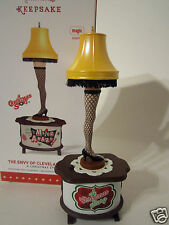 Hallmark 2015 A Christmas Story The Envy of Cleveland Street Leg Lamp QXI226 NEW