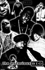 "NOTORIOUS B.I.G.  11x17  ""Black Light"" Poster"