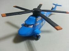 Mattel Disney Pixar Cars 2 Dinoco Helicopter Diecast Toy Car 1:55 Loose New