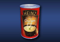 1:12 Scale Chicken SoupTin Dolls House Miniature Food Cans