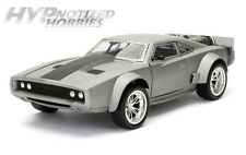 JADA 1:24 FAST & FURIOUS 8 DOM'S ICE CHARGER DIE-CAST GREY 98291