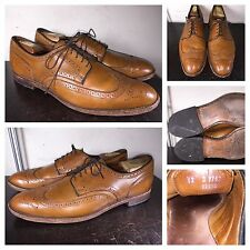 "Allen Edmonds ""Players Shoe""  Wingtip Oxfords sz  12 D  Walnut Brown Mens  Shoes"