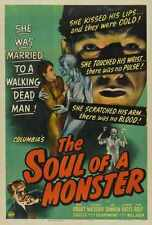Soul Of Monster Poster 01 Metal Sign A4 12x8 AluminIum