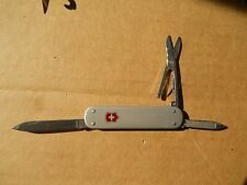 Victorinox Money Clip 74mm Swiss Army knife in silver Alox