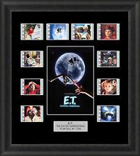 E.T. THE EXTRA TERRESTRIAL MOUNTED FRAMED FILM CELL MEMORABILIA ALIEN FILM CELLS