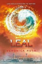 NEW Leal Divergent Trilogy Allegiant by Veronica Roth Paperback Book (Spanish) F