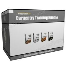 Carpentry Carpenter Tools Woodwork Joiner Training Course Program Bundle