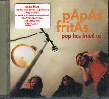 CD album: Papas Fritas: pop has freed us. cd+dvd. minty fresh. indie