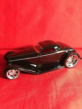 JADA DUB CITY 1932 FORD D RODZ 1/24 DIECAST MODEL CAR BLACK