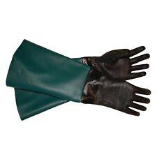 "TUFF-Blast Gloves for Sandblasting Sandblaster Sand Blast Cabinet - 9"" x 28"""