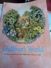 LILLIPUT LANE MAGAZINE GULLIVERS WORLD ISSUE 1 1996