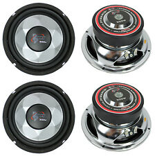 """4) New PYRAMID PW677X 1200W 6"""" Car Audio Subs/Subwoofers Power Woofers Stereo"""