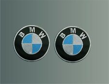 n°2 PATCH BMW TOPPA RICAMATO TERMOADESIVO embroidery cm 4