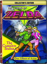The Legend Of Zelda . The Complete Animated Series . 1989 . DVD . NEU . OVP