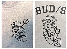 "SWCC NAVY SEALS UDT ""BUD/S"" SPEC OPS Trident FROG T-SHIRT Large"