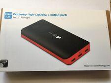 EC Technology® 2nd Gen Deluxe 22400mAh Ultra High Capacity 3 USB Output Exter...