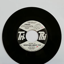 """Promo Harvey She Loves Me So + Whistling About You Tri-Phi 7"""" 45 rpm DJTP-1010-A"""