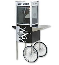 Popcorn Machine Popper & Cart Harley Davidson 4oz