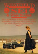 Westfield SEi & Wide Bodied Kit Form Mid 1990s UK Market Leaflet Sales Brochure